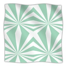 Starburst Microfiber Fleece Throw Blanket