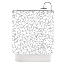 British Polyester Shower Curtain