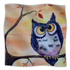 Hootie Cutie Microfiber Fleece Throw Blanket