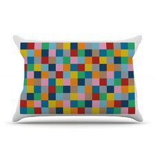 Colour Blocks Zoom Pillow Case