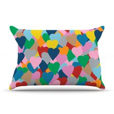 More Hearts Pillow Case