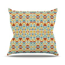 Tribal Imagination Throw Pillow