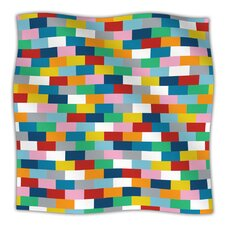 Bricks Microfiber Fleece Throw Blanket