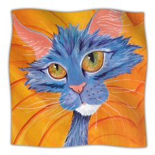 Tell Me More Microfiber Fleece Throw Blanket