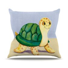 Slow And Steady Throw Pillow