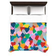 More Hearts Duvet Cover Collection