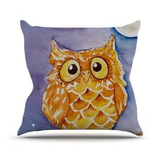 Little Hoot Throw Pillow