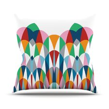 Modern Day Arches Throw Pillow