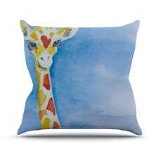 Topsy Throw Pillow
