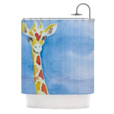 Topsy Polyester Shower Curtain