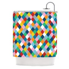 Harlequin Zoom Polyester Shower Curtain