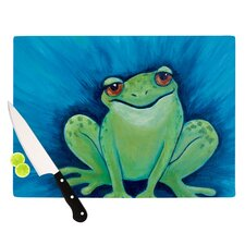 Ribbit Ribbit Cutting Board