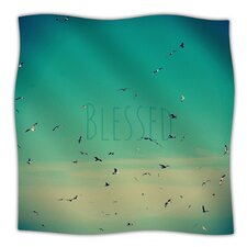 Blessed Microfiber Fleece Throw Blanket