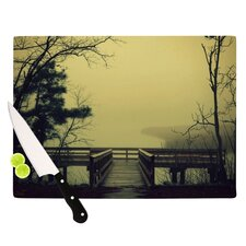 Fog on The River Cutting Board