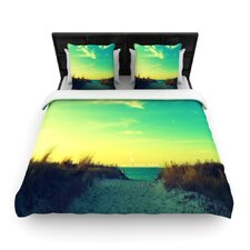 Walk With Love Duvet Cover