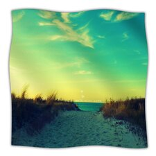 Walk With Love Microfiber Fleece Throw Blanket