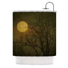 Starry Night Polyester Shower Curtain