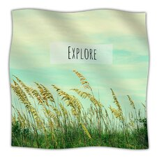 Explore Microfiber Fleece Throw Blanket