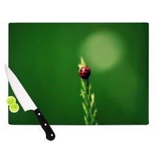 Ladybug Hugs Cutting Board