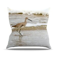 Counting The Waves Throw Pillow
