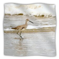 Counting The Waves Microfiber Fleece Throw Blanket