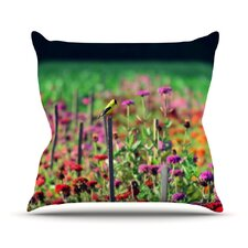 Live in The Sunshine Throw Pillow