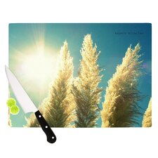 Ornamental Grass Cutting Board