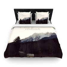 Go into The Unknown Duvet Cover