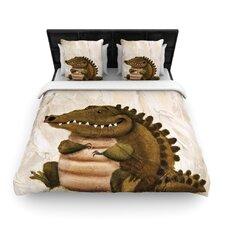 Smiley Crocodiley Duvet Cover