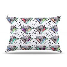 Polka Dot Diamond Pillow Case