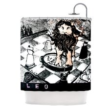 King Leo Polyester Shower Curtain