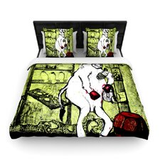 Taurus by Theresa Giolzetti Woven Duvet Cover
