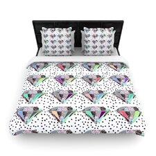 Polka Dot Diamond Duvet Cover