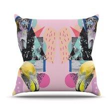 Flamingo Tropical Throw Pillow