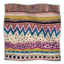 Koko Microfiber Fleece Throw Blanket