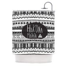Hakuna Matata Polyester Shower Curtain