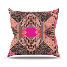 New Wave Zebra Throw Pillow