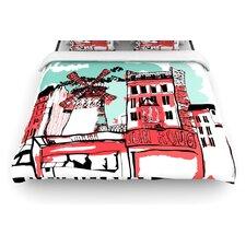 """Montmartre"" Woven Comforter Duvet Cover"