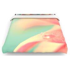 """Peach Mint"" Woven Comforter Duvet Cover"