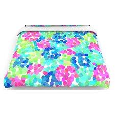 """""""Flower Garden"""" Woven Comforter Duvet Cover"""