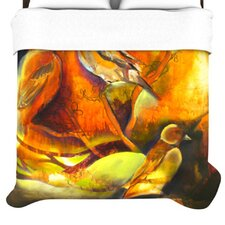 """Reflecting Light"" Woven Comforter Duvet Cover"