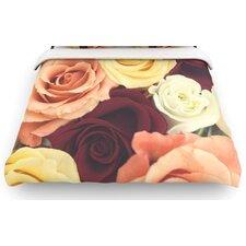"""""""Vintage Roses"""" Woven Comforter Duvet Cover"""