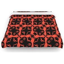 """Oval Orange Love"" Bedding Collection"