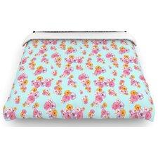 """""""Paper Flower"""" Woven Comforter Duvet Cover"""