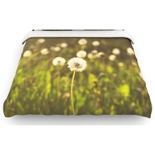 """As You Wish"" Dandelions Woven Comforter Duvet Cover"