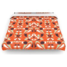 """Orange Swirl Kiss"" Bedding Collection"