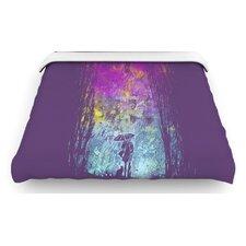 """""""Purple Rain"""" Woven Comforter Duvet Cover"""