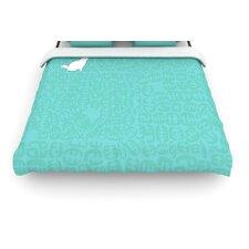 """""""Oliver"""" Woven Comforter Duvet Cover"""