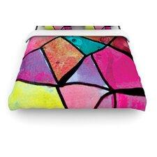 """""""Stain Glass 3"""" Woven Comforter Duvet Cover"""