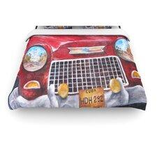 """Vintage in Cuba"" Woven Comforter Duvet Cover"
